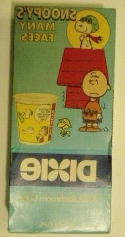 1986 Snoopy - Snoopy's Many Faces Dixie Cup Box 200 Count 3