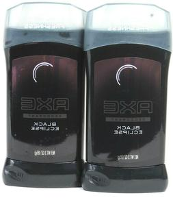 2 Ct Axe 3 Oz Black Eclipse 24 Hr All Day Freshness & Odor P