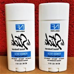 2 x Nature De France Le Stick Natural Aluminum Free Deodoran