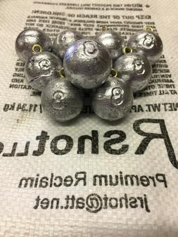 3 oz Cannonball Sinkers - Lead Fishing Weights - Free Shipp