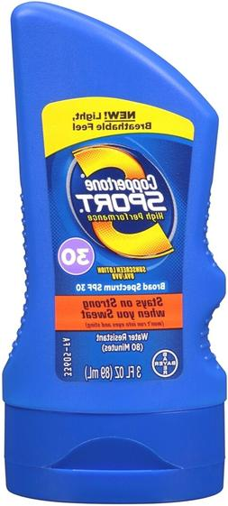3 Pack - Coppertone Sport High Performance Sunscreen Lotion