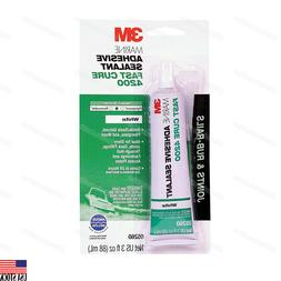 3M 05260 White Marine Adhesive/Sealant Fast Cure 4200 3 oz T