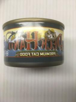 Deckhand 4 pk of 3 Premium Tuna Cat Food 3 oz Cans - Exp 5/8