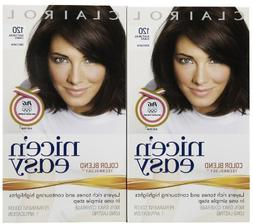 Clairol Nice 'n Easy Hair Color, Natural Dark Brown , 2 pk