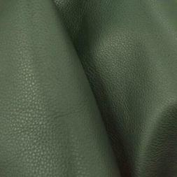 """Deep Forest Pine Green """"Signature"""" Leather Cow Hide 12"""" x 12"""