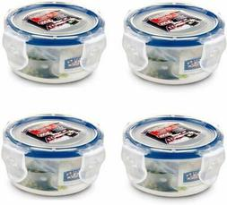 Lock & Lock, No BPA, Water tight, Food Storage Container, 3-