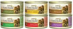 Nature's Variety Instinct Canned Cat Food Variety Pack 12 ca