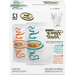 Purina Fancy Feast Broths Chicken Collection Adult Wet Cat F