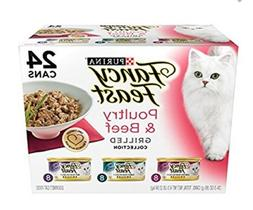 Purina Fancy Feast Grilled Poultry & Beef Collection Cat Foo