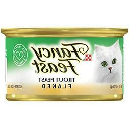 Purina Fancy Feast Adult Canned Wet Cat Food  3 oz. Cans, Tr