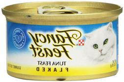 Purina Fancy Feast Adult Canned Wet Cat Food, Flaked Tuna,