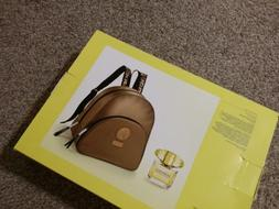 Versace backpack gold Yellow diamond EDT perfum Full size 3o