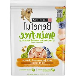 Purina Beneful Grain-Free With Farm-Raised Chicken Dog Food,