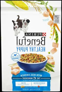 Purina Beneful Healthy Puppy With Real Chicken Dry Dog Food,