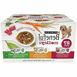 Purina Beneful Medleys Variety Pack Dog Food 27-3 oz. Cans N