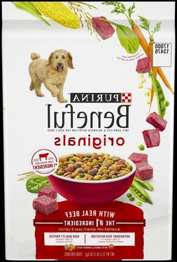 Purina Beneful Originals With Real Beef Adult Dry Dog Food,