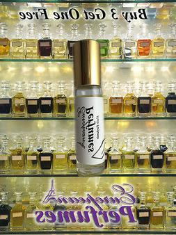 Amber white perfume, body oil, unisex fragrance concentrated