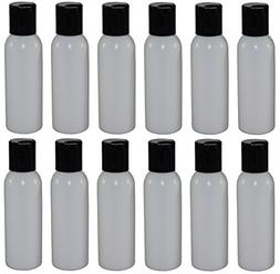 2-oz Refillable Bottle with Disc Cap