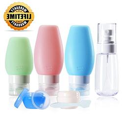 Travel Bottles, Chamch TSA Approved Leakproof Refillable Tra