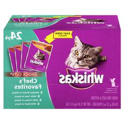 Whiskas Choice Cuts Chef'S Favorites Variety Pack Wet Cat Fo