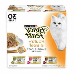Purina Fancy Feast Classic Collection Adult Wet Cat Food Var