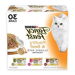 Purina Fancy Feast Classic Pate Poultry & Beef Collection Ad