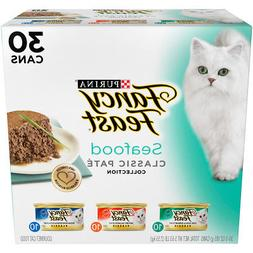 Purina Fancy Feast Classic Seafood Feast Collection Cat Food
