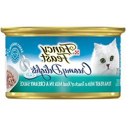 Purina Fancy Feast Creamy Delights Tuna Feast With a Touch o