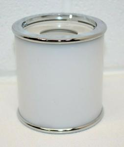 Dixie Counter Cup Dispenser For 3 OR 5 oz Cups White w/ Chro