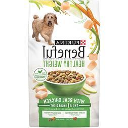 Beneful Dry Dog Food, Healthy Weight with Real Chicken, 6.3