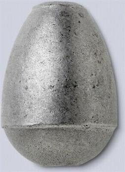 Bullet Weights Egg Sinkers 3 oz 25-Pack
