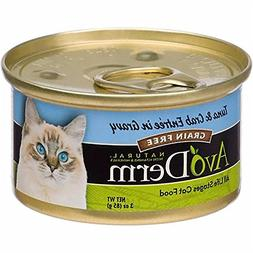 AvoDerm Natural Grain Free Wet Cat Food, Tuna & Crab in Grav