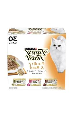 Purina Fancy Feast Classic Pate Poultry & Beef Wet Cat Food