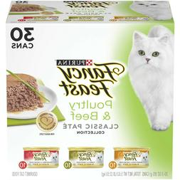 Purina Fancy Feast Classic Poultry & Beef Feast Variety Cat