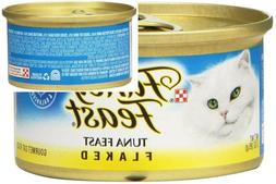 Purina Fancy Feast Flaked Wet Cat Food -  3 oz. Cans - TUNA