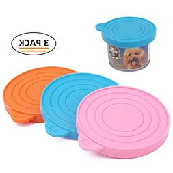 ThinkPet Food-Grade Silicone Pet Food Storage Can Lid Cover,
