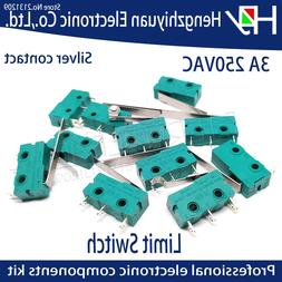 Hzy Mini Micro Switch Roller Lever Arm SPDT Snap Action LOT