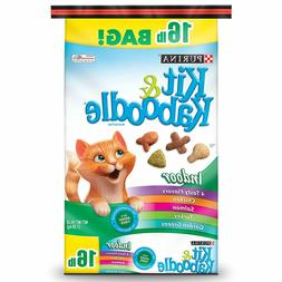 Purina Kit & Kaboodle Indoor Adult Dry Cat Food 16 Lbs pound