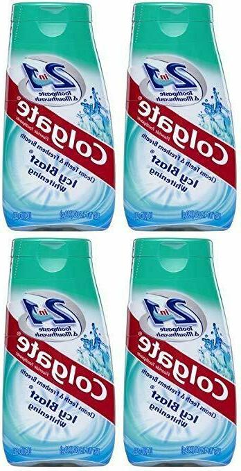 Colgate Colgate 2-in-1 Toothpaste & Mouthwash, Whitening Icy