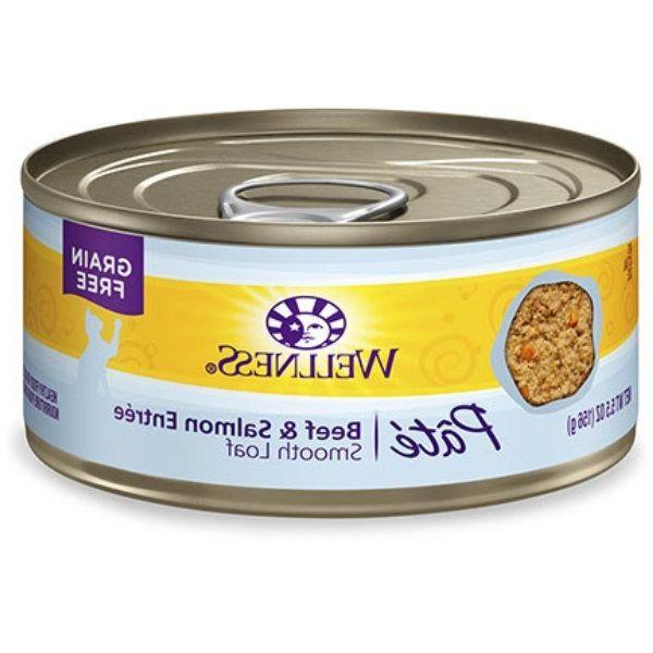 12pk Wellness Canned Natural Grain Free Wet Canned Cat Food,