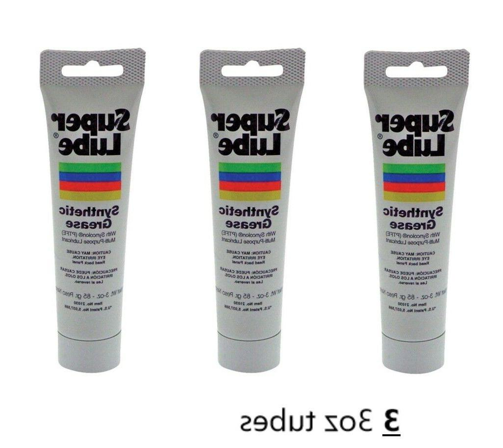 Super Lube 21030 Synthetic Grease , 3 oz Tube