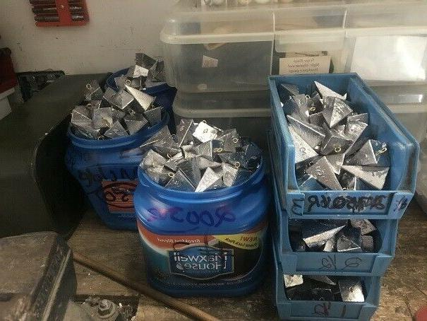 3 oz pyramid sinkers lot of 50