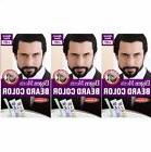 3 X Bigen Men's BEARD COLOUR