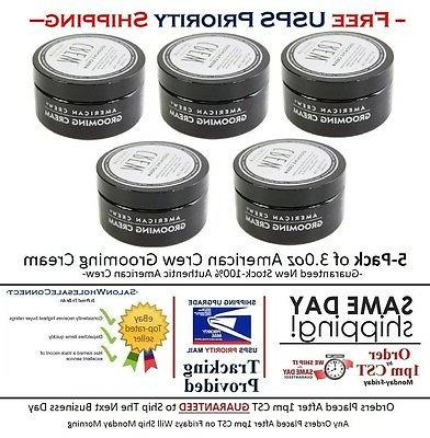 American Crew Grooming Cream 3oz 5pk Bundle Free Same Day Pr