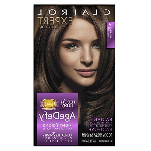 Clairol Expert Collection Age Defy Permanent Hair Color, 4 D