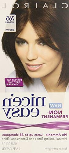 Clairol Nice 'n Easy Non-Permanent Hair Color Medium Brown 7