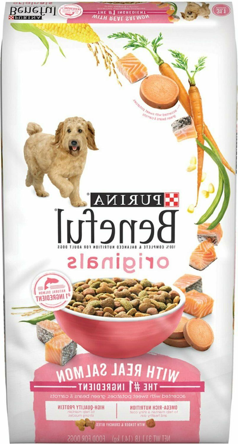 Purina Beneful Originals With Real Salmon Dry Dog Food - 3.5