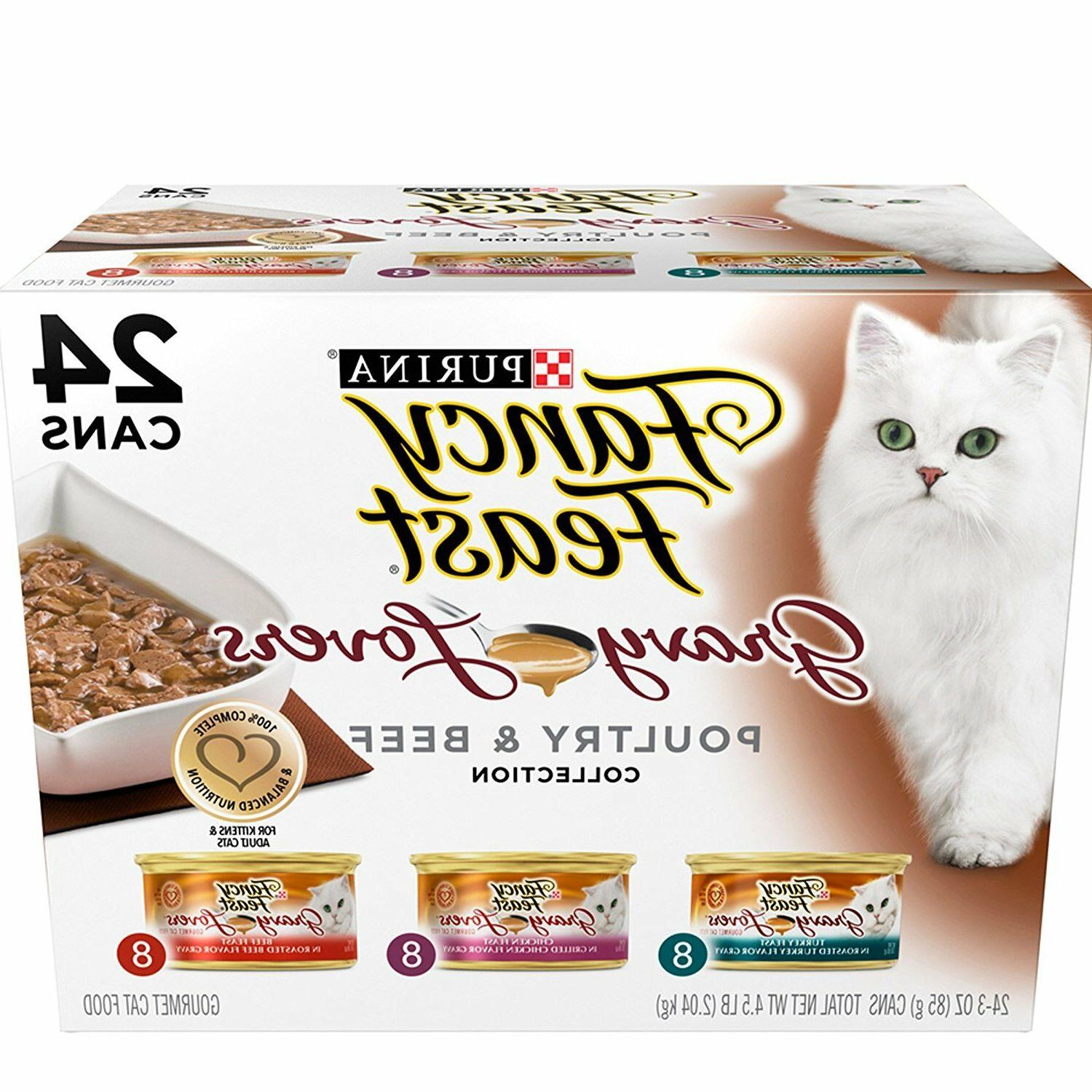 Purina Fancy Feasts Grilled Seafood Collection Wet Cat Food