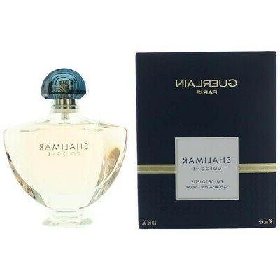 Shalimar Cologne by Guerlain EDT Spray 3 oz