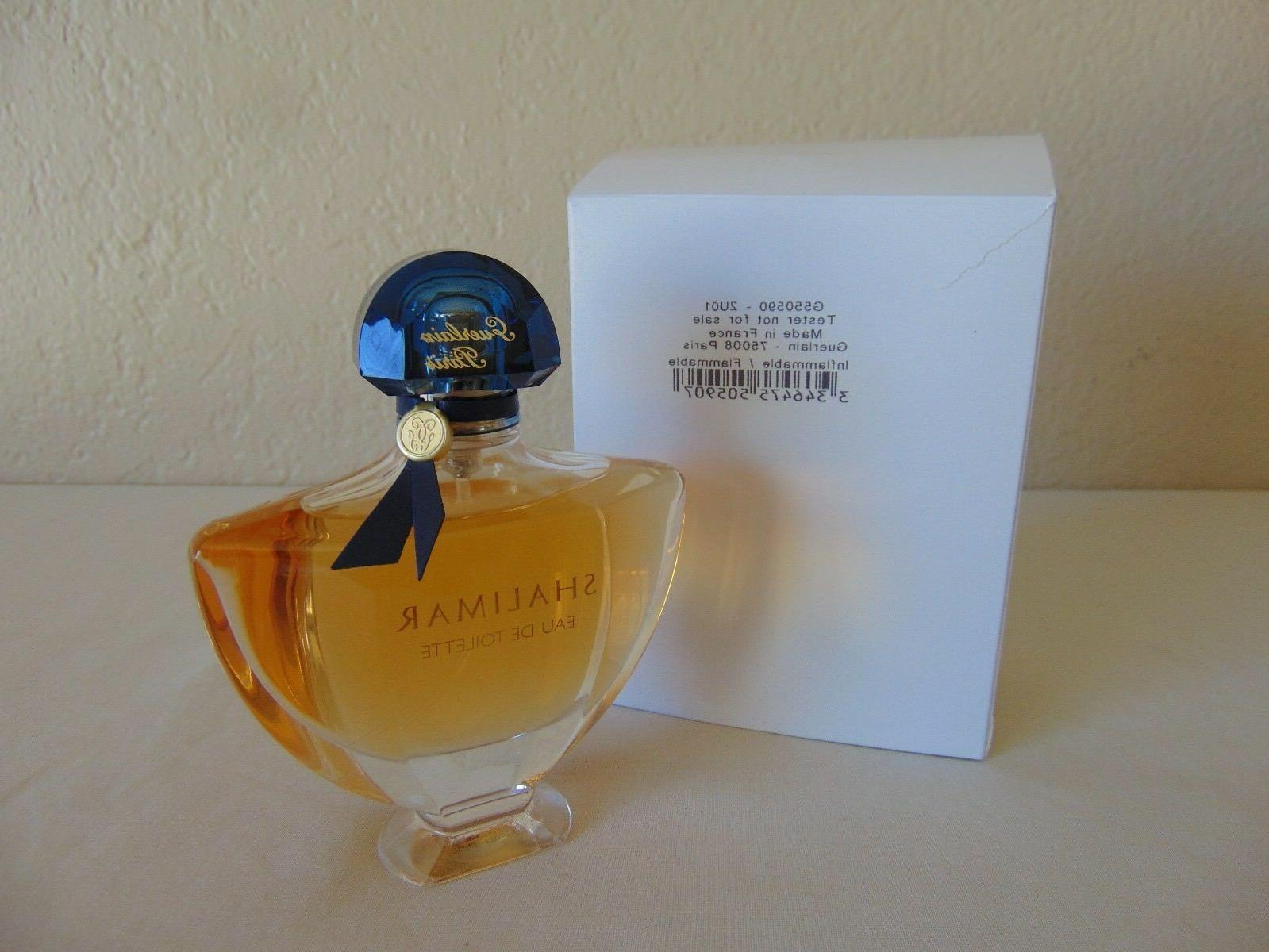 Shalimar Perfume By GUERLAIN FOR WOMEN 3 oz 90 ML  NEW